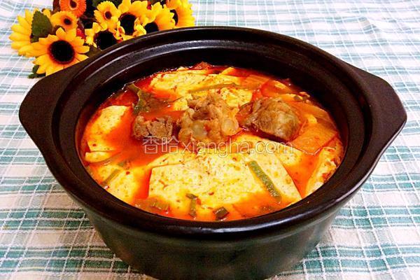 韩国排骨汤