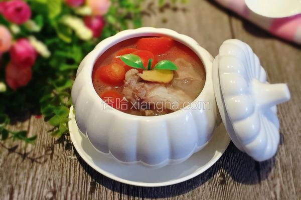 萝卜排骨天麻汤
