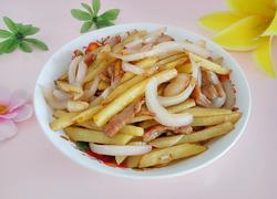 土豆洋葱炒肉丝