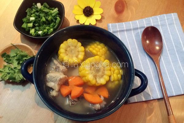 玉米排骨鲜汤