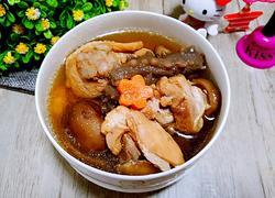 海参香菇煲鸡汤