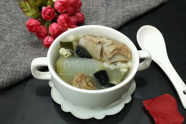 冬瓜灵芝汤