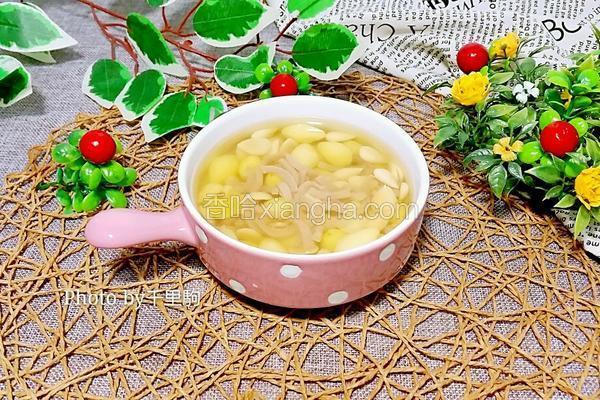 白果杏仁美肤汤