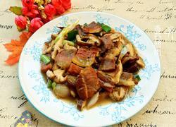 香菇炒腊肉