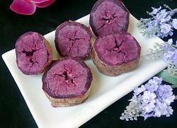 微波炉烤紫薯