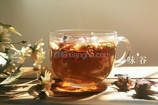 洛神玫瑰花茶