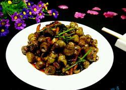 紫苏豉酱炒石螺