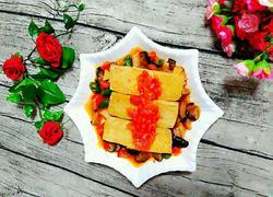 蕃茄冻豆腐