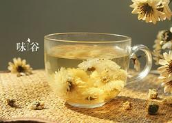 菊花山楂麦冬饮