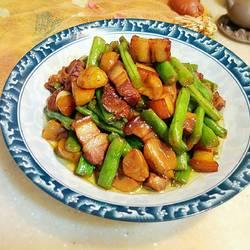 栗子四季豆红烧肉