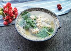 生汆丸子三鲜汤