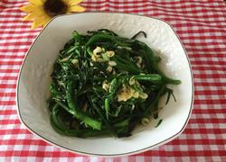 虾皮炒青菜心