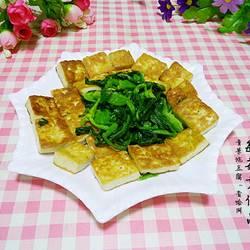 青菜炕豆腐