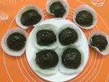 抹茶红豆糯米糍的做法[图]
