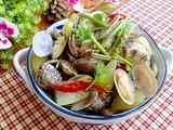 蛤蜊炒冬瓜的做法[图]