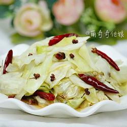 炝圆白菜的做法[图]