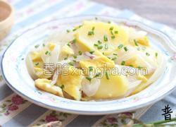 洋葱炒土豆片