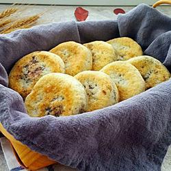 豆沙荞麦饼
