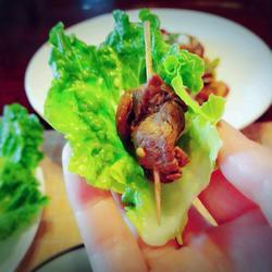 牙签牦牛肉