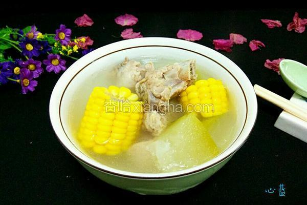 排骨冬瓜玉米汤