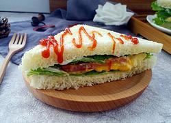 培根芝士三明治