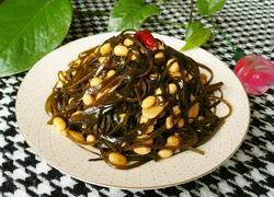 海带焖黄豆