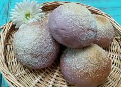 紫薯椰蓉面包(普通面粉版)