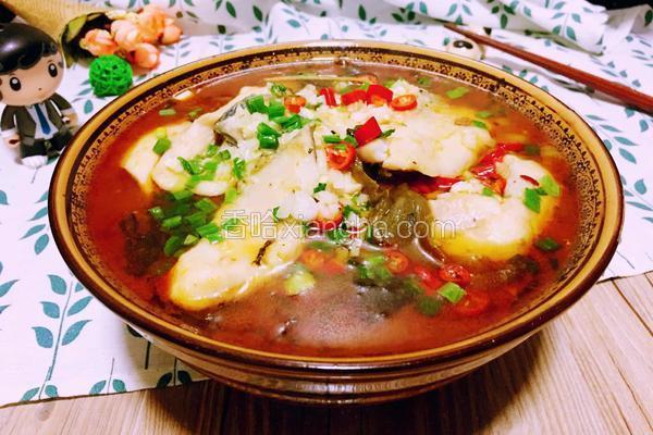 正宗四川酸菜鱼