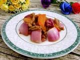 胡萝卜洋葱炒肉的做法[图]
