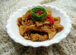 红烧三角油豆腐