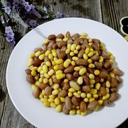 花生拌黄豆的做法[图]