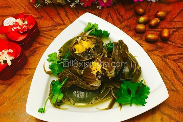 卤菜品的河蟹_菜谱造型小鸟做法图片
