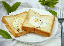 土司面包煎鸡蛋