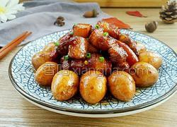红烧肉炖蛋