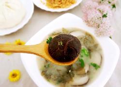 紫菜鲜菇汤
