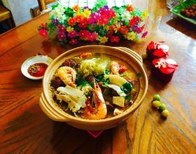沙锅炖酸菜血肠[图]