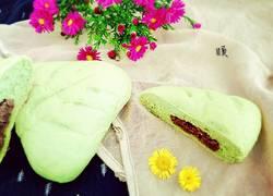花式抹茶红豆包