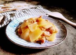 五花肉炒冬瓜