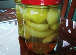 自制水蜜桃罐头