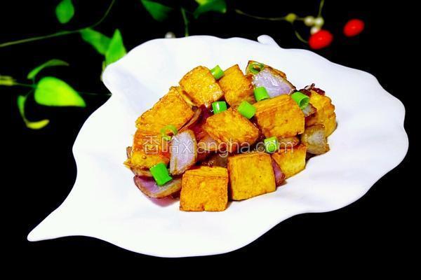 洋葱炒豆腐