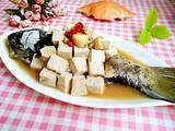 垮炖鲜鱼豆腐的做法[图]