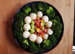西兰花鹌鹑蛋