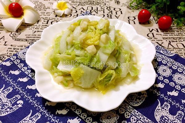 清炒奶白菜
