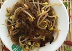 黄豆芽炒粉丝