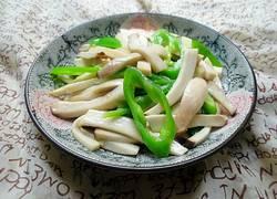 杏鲍菇炒青椒