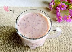 蓝莓蜂蜜奶昔