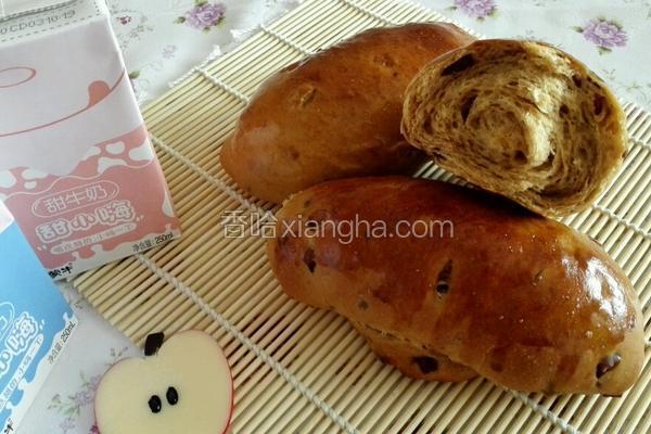 酸奶红糖红枣面包