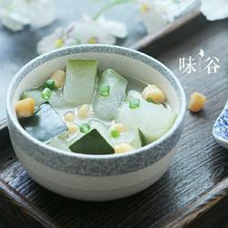 冬瓜干贝汤的做法[图]