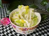 白菜炝锅面的做法[图]
