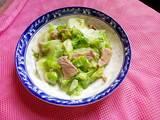 莲白盐煎肉的做法[图]